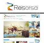 #1047 for Design en logo for Resorsa by blackholeblast