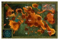 Entry # 13 for Game Board Design for Post-Apocalyptic Strategy Game by