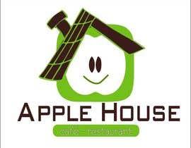 nº 2 pour Create Logo for restaurante /Разработка логотипа для ресторана Apple House par CioLena