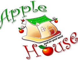 Pato24 tarafından Create Logo for restaurante /Разработка логотипа для ресторана Apple House için no 15