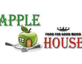 nº 30 pour Create Logo for restaurante /Разработка логотипа для ресторана Apple House par Pato24