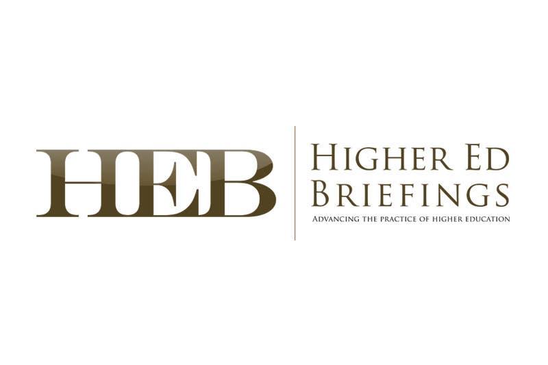 Конкурсная заявка №208 для Logo Design for Higher Education Briefings, LLC