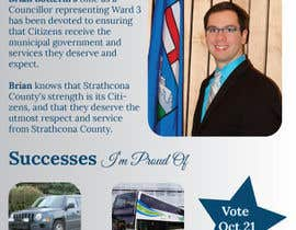 nº 5 pour Design a Flyer for a Municipal Election par llpromo