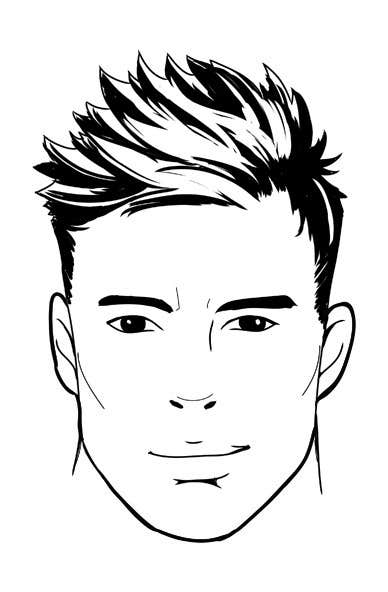 Simple Line Drawing Of A Face : Entry by inoreloaded for simple face drawing sample
