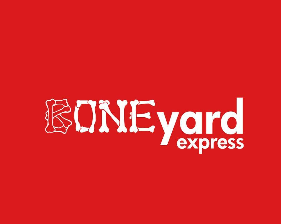 Penyertaan Peraduan #13 untuk Design a Logo for Boneyardexpress - repost