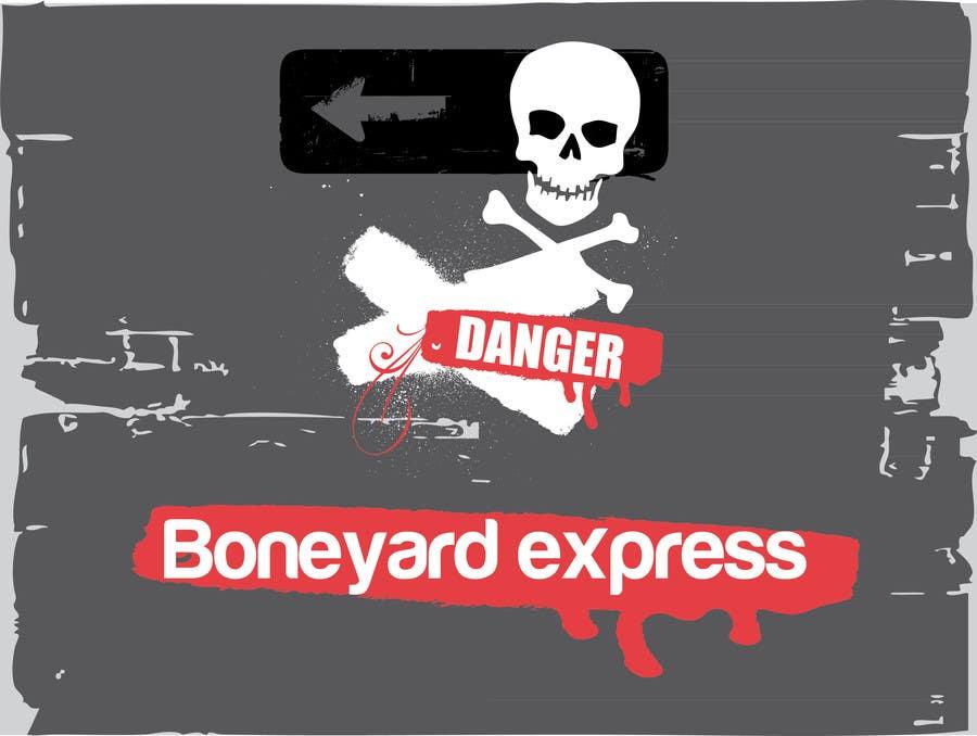 Penyertaan Peraduan #35 untuk Design a Logo for Boneyardexpress - repost