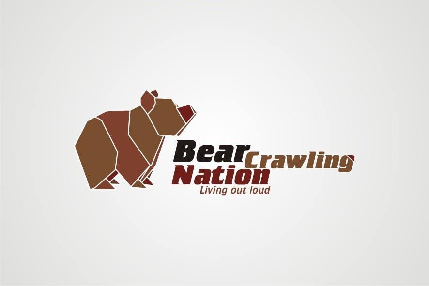 Kilpailutyö #                                        25                                      kilpailussa                                         Icon Design for BearCrawling Nation