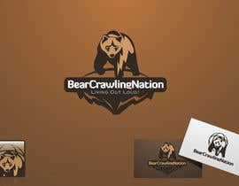 nº 34 pour Icon Design for BearCrawling Nation par taks0not