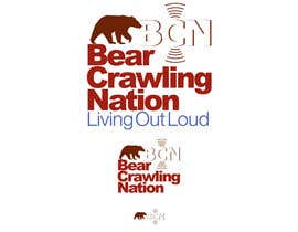 nº 17 pour Icon Design for BearCrawling Nation par stanbaker