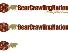 #18 untuk Icon Design for BearCrawling Nation oleh stanbaker