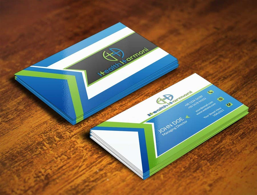 business card - 3 D Business Card