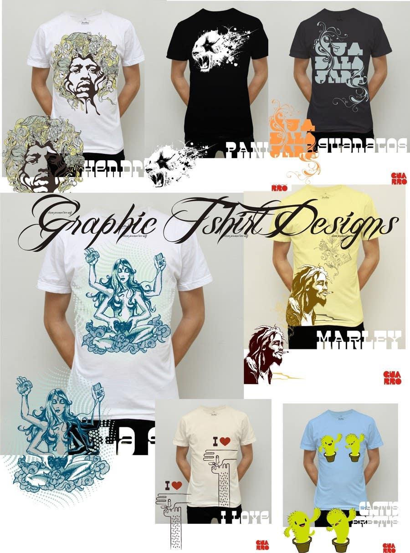 Inscrição nº 6 do Concurso para I need some Graphic Design for startup t-shirt company