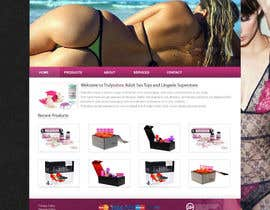 #5 para Design an amazing front page for an adult toys website. por ismayelcom