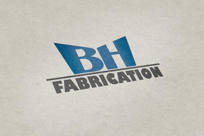 #135 for Design a Logo for BH Fabrication by JosefaSK