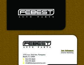 #7 para Design some Business Cards for Our Auto Parts Company por allynutz