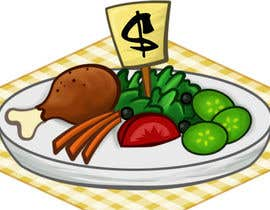 #71 para Icon or Button Designs for collegefooddish.com por monselj1