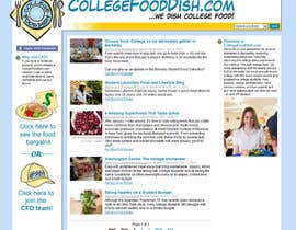 #70 for Icon or Button Designs for collegefooddish.com af ginocappelli