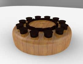 #19 untuk Do some 3D Modelling for the Coffee Condiment Organizer oleh mfraz