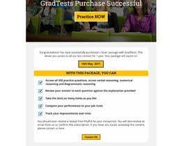 Nro 3 kilpailuun Design 1 landing page for an IQ testing website käyttäjältä dreamlineproduct