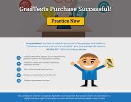 Nro 9 kilpailuun Design 1 landing page for an IQ testing website käyttäjältä shakilaiub10
