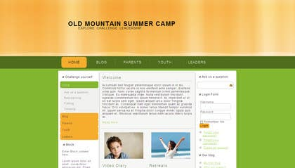 #9 for Web Design for Youth Outdoor Adventure and Service Organization website by jcitbournemouth