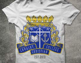 nº 27 pour Design a T-Shirt for Calvary Christian College par akgallentes