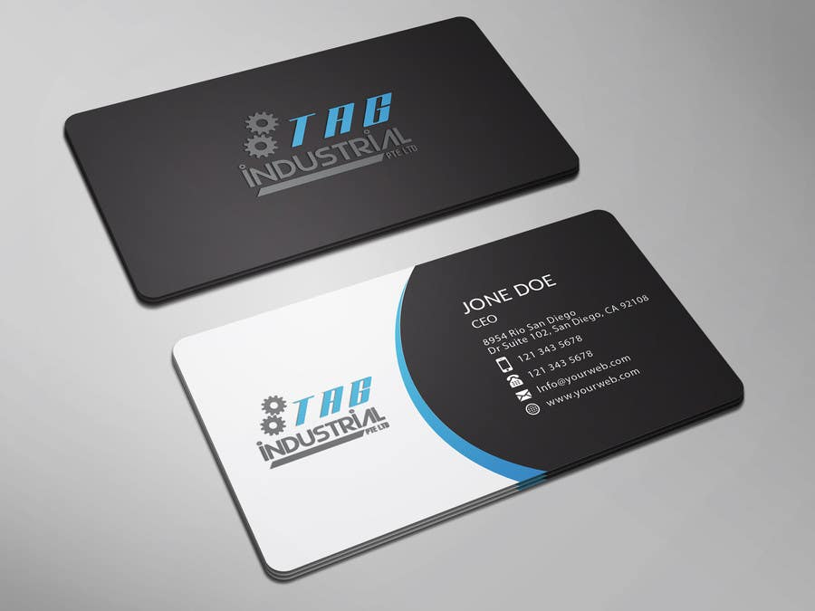 Entry 27 By Imimam96 For Business Card Design For Robotics Start Up