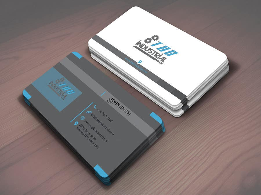 Entry 55 By Masumbillah606 For Business Card Design For Robotics