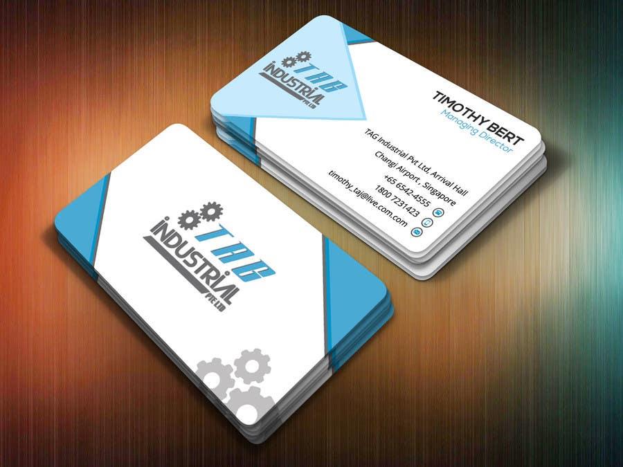 Entry 26 By Nasir34 For Business Card Design For Robotics Start Up