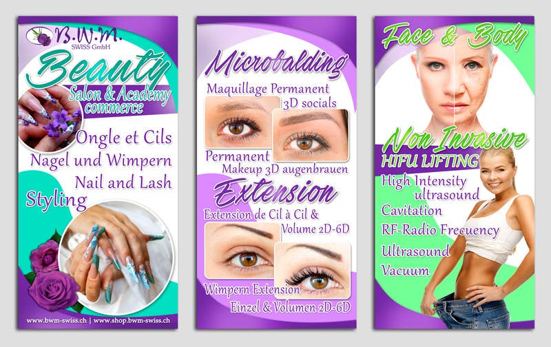 Contest Entry 24 For Design A Beauty Salon Banner