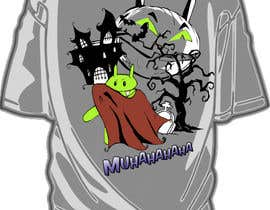 #26 for Design a Tee for Android Halloween by ZoCDT