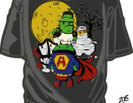 #35 cho Design a Tee for Android Halloween bởi ZoCDT