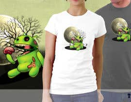 nº 28 pour Design a Tee for Android Halloween par totta00spy