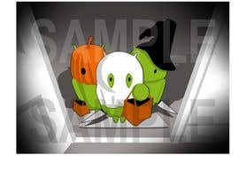 #37 for Design a Tee for Android Halloween by Radiant1976