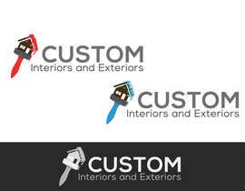 nº 32 pour Design a Logo for Custom Interiors and Exteriors par vw7964356vw