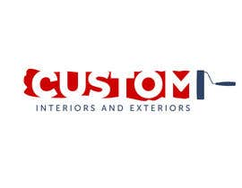 nº 4 pour Design a Logo for Custom Interiors and Exteriors par rogerweikers