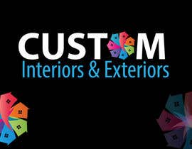 nº 20 pour Design a Logo for Custom Interiors and Exteriors par manuel0827