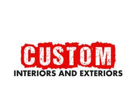 #21 for Design a Logo for Custom Interiors and Exteriors by LogoFreelancers