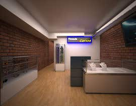 #9 untuk Interior design of men's clothing and shoe store oleh RavenPyo