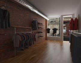 #3 untuk Interior design of men's clothing and shoe store oleh Vladu11