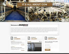 #30 cho Design a Website Dundas Agri Systems Inc bởi kosmografic