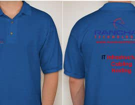 #15 para Design a corporate polo T-Shirt for company uniform de PatrickDinehart