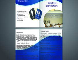 #13 para Design a Brochure for a Sign Company de madalinarpadurar