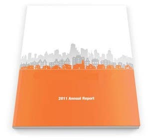 #3 สำหรับ Design a corporate report โดย binary14