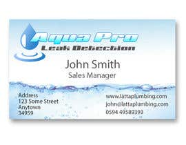 #10 για Design a Logo and Business Card for a Leak Detection Company for Water Leaks (Similar to Plumber) Up to 2 Winners από fingerburns