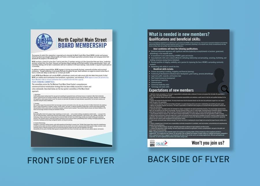 Конкурсна заявка №10 для Design a Flyer2