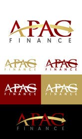 #45 for APAC Finance logo design af SergiuDorin