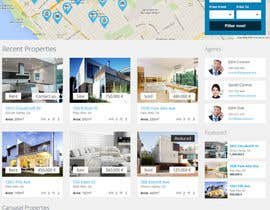 nº 7 pour Build a Website for www.Commercialmls.net real estate website par flashraj