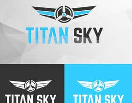 #157 for Design a Logo for Titan Sky by BhenAblana