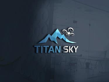 #42 for Design a Logo for Titan Sky by anik6862